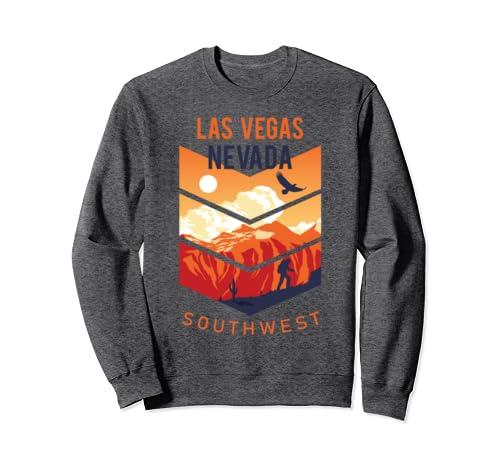 Las Vegas Nevada Native Home State Vintage Southwest Sweatshirt