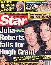 Julia Roberts and Hugh Grant, Meg Ryan and Russell Crowe, Garth Brooks, O.J. Simpson - November 14, 2000 Star Magazine