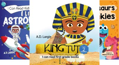 I can read first grade books (3 Book Series)