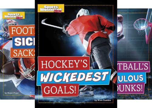Sports Illustrated Kids Prime Time Plays (4 Book Series)