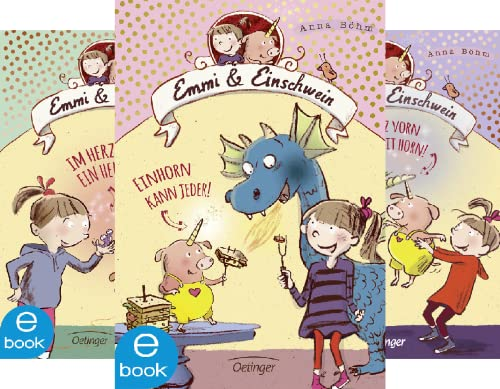 Emmi & Einschwein (Reihe in 5 Bänden)