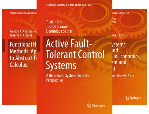 Studies in Systems, Decision and Control (101-150) (50 Book Series)