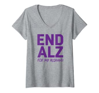 b28754bb248 Amazon.com: Womens Alzheimer's Awareness Products Purple ENDALZ End ...