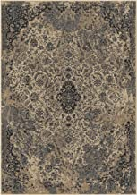 """product image for Orian Rugs Symphony Kirman Distressed Area Rug, 5'3"""" x 7'6"""", Grey"""