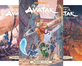 Avatar: the Last Airbender - Imbalance (3 Book Series)