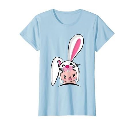 Regalo para Madres y beb/és en un Camiseta para beb/és y una Camiseta de Mujer a Juego Baby Bunny Mini Mouse