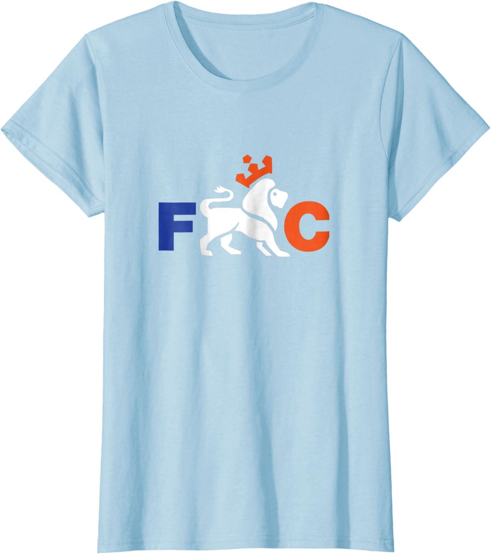 FC Shirt,Futbol Tee Cincinnati Soccer Shirt with Lion
