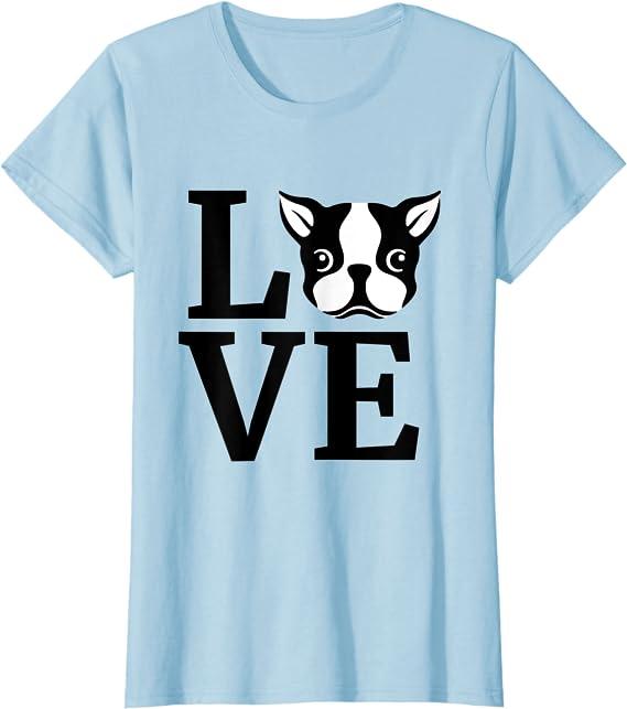Boston Terrier Tie Dye Rainbow Dog Lover Gift T-Shirt