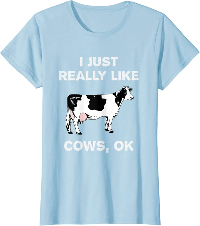 Funny Humor Novelty Cows are Delicious Food T-Shirt