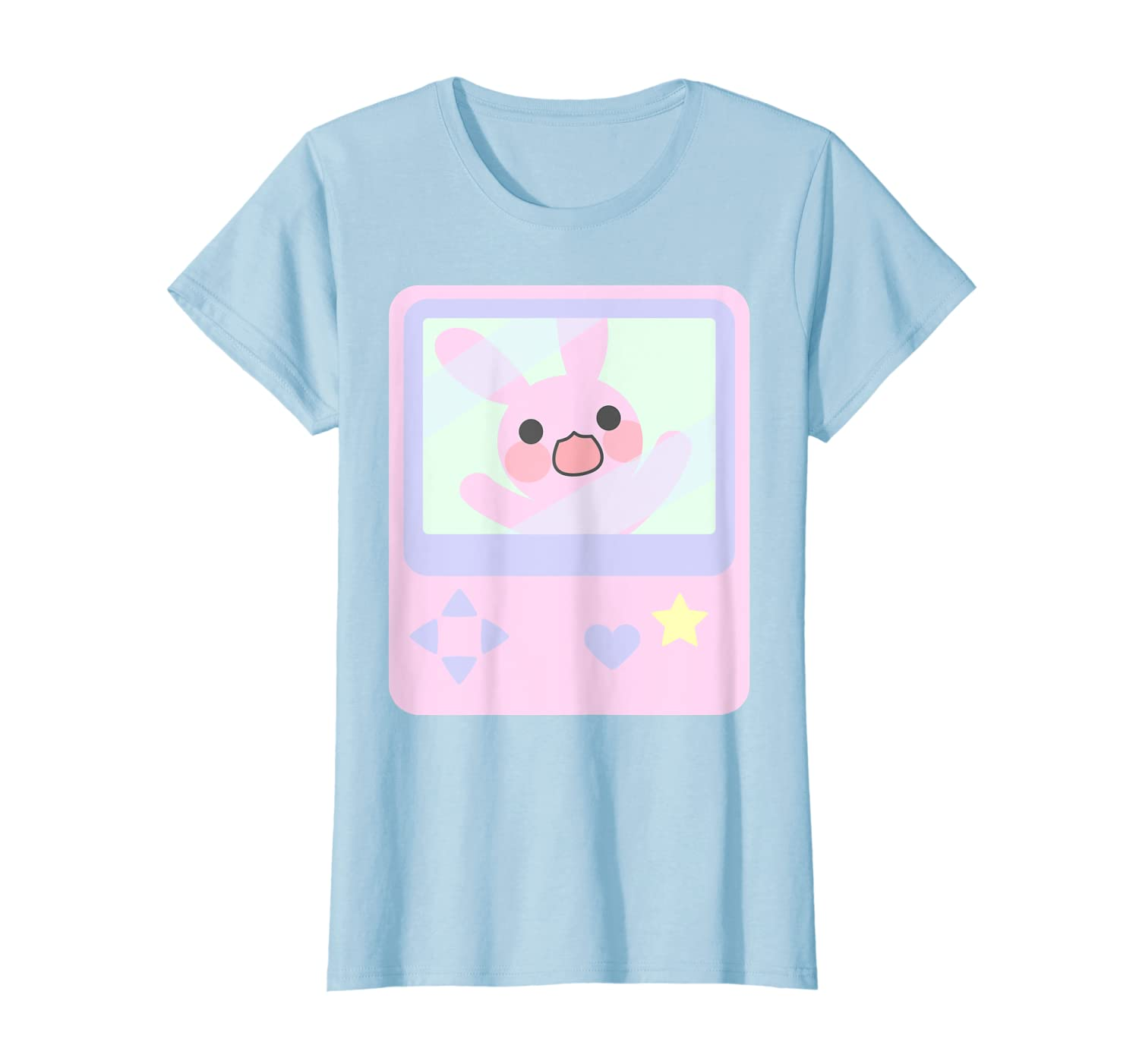 Amazon.com: Kawaii Gamer Bunny Rabbit Pastel Shirt: Clothing