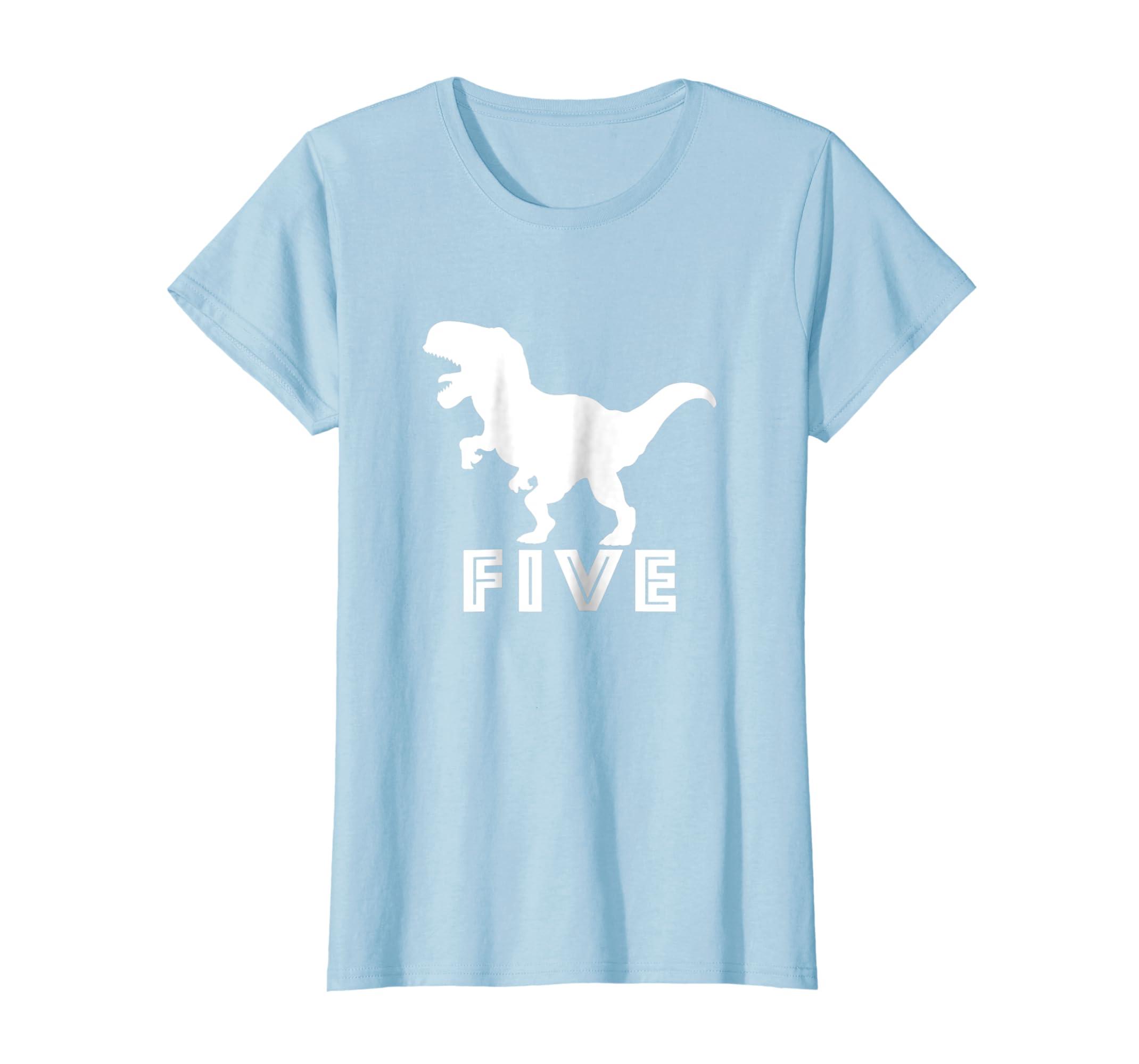Amazon 5th Birthday Dinosaur Shirt Boy T Rex