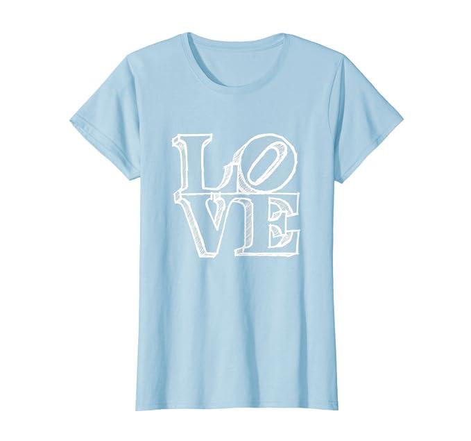 391cd633 Amazon.com: Philadelphia Love Statue Philly Pennsylvania Art T Shirt:  Clothing