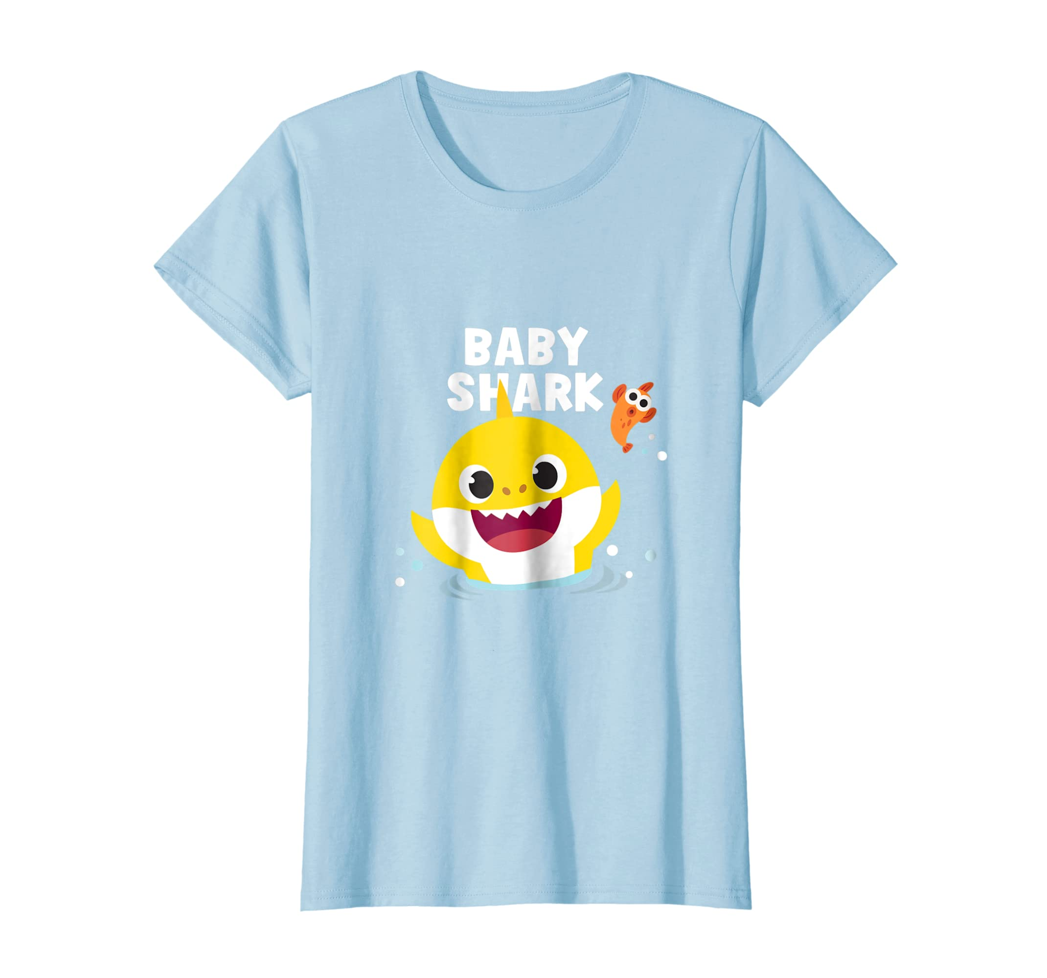 c4206168 Amazon.com: Pinkfong Baby Shark t-shirt with text: Clothing