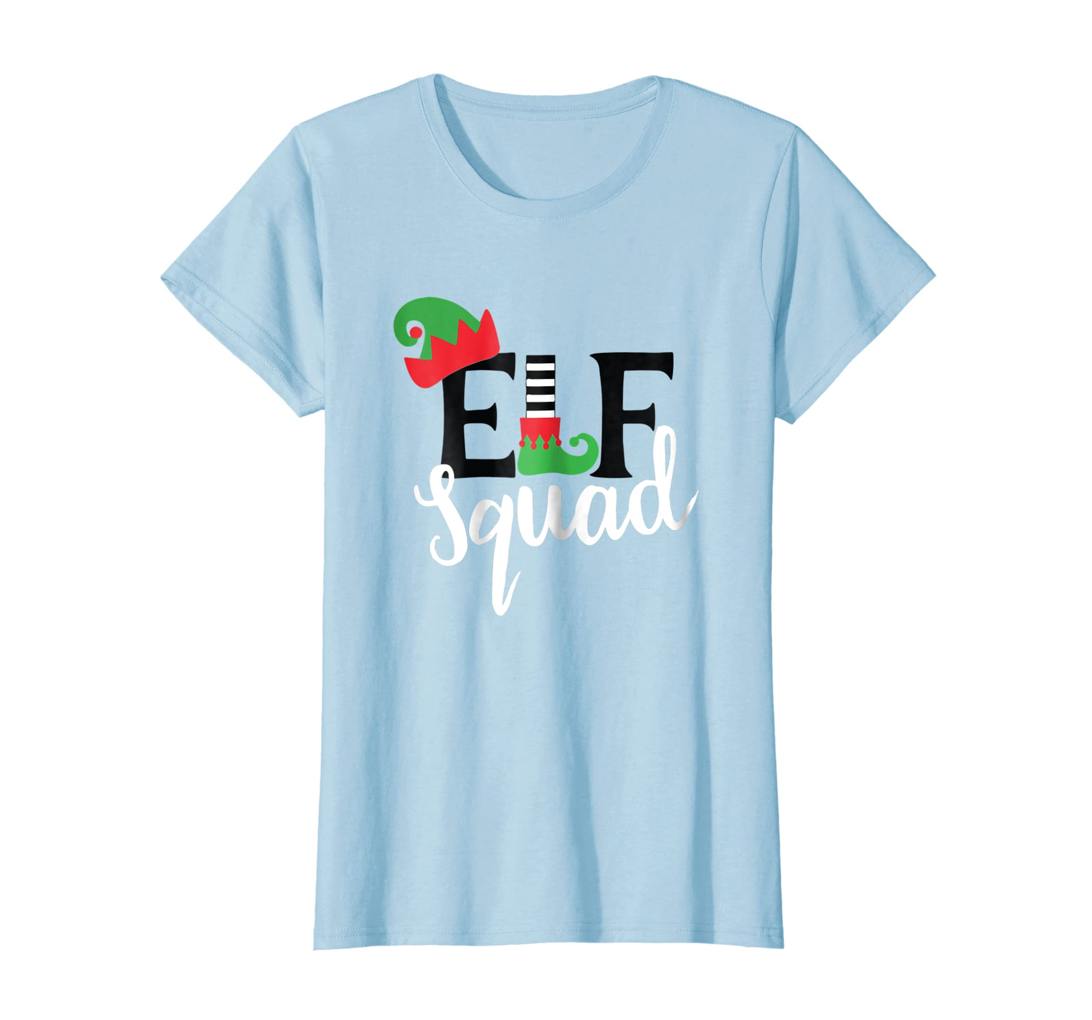 d721f62d29 Amazon.com  Family Christmas Matching T Shirts Holiday Group Elf Squad   Clothing