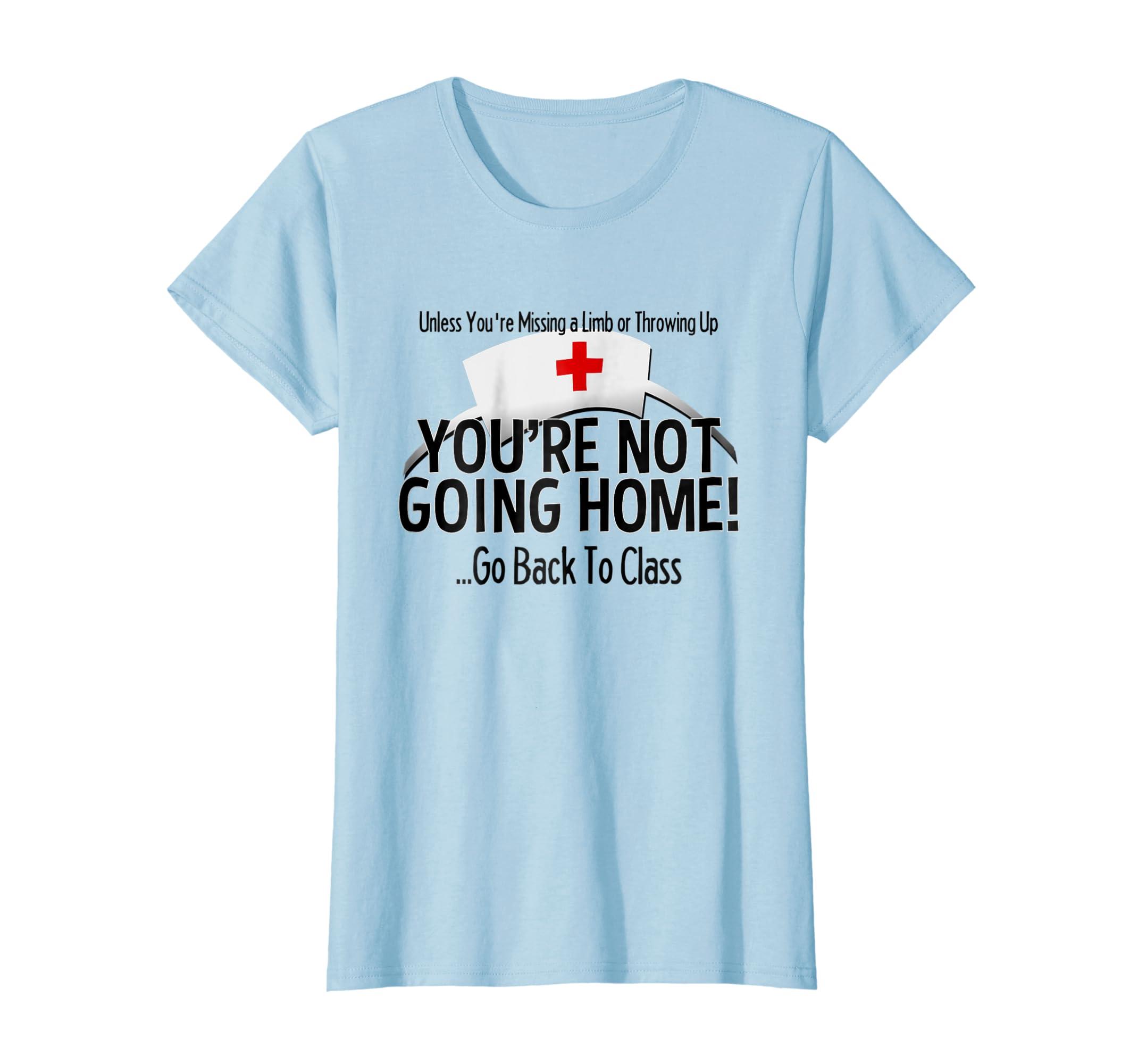 Amazon.com: School Nurse T Shirt Medical Nursing Appreciation Gift ...