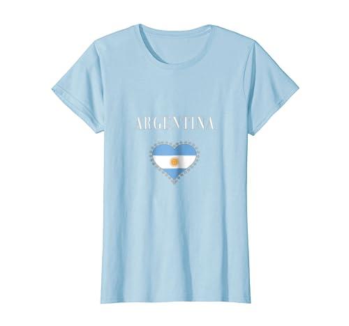 Amazon.com: Womens Camiseta de mujer Argentina Girl Women T-shirt: Clothing