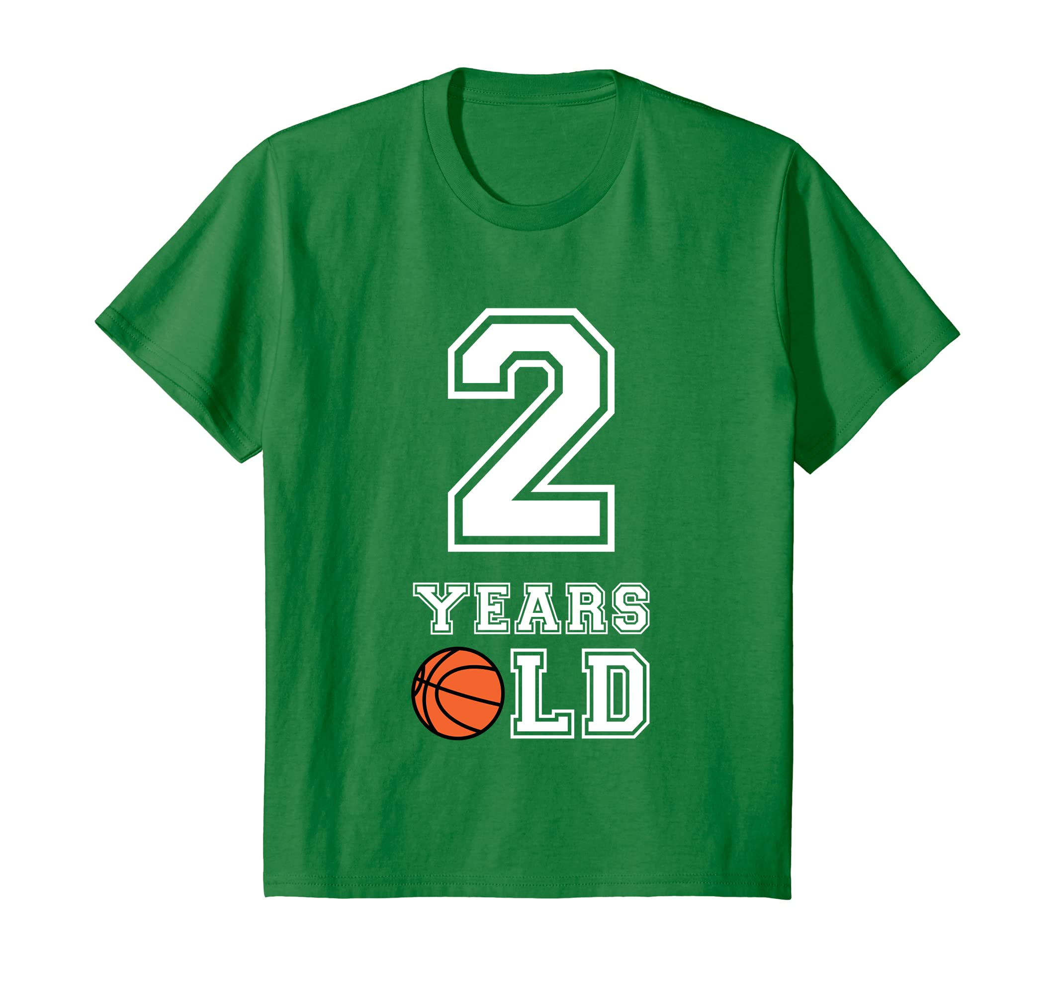 Amazon 2 Years Old Basketball Birthday Shirt Boys 2nd Gift Clothing