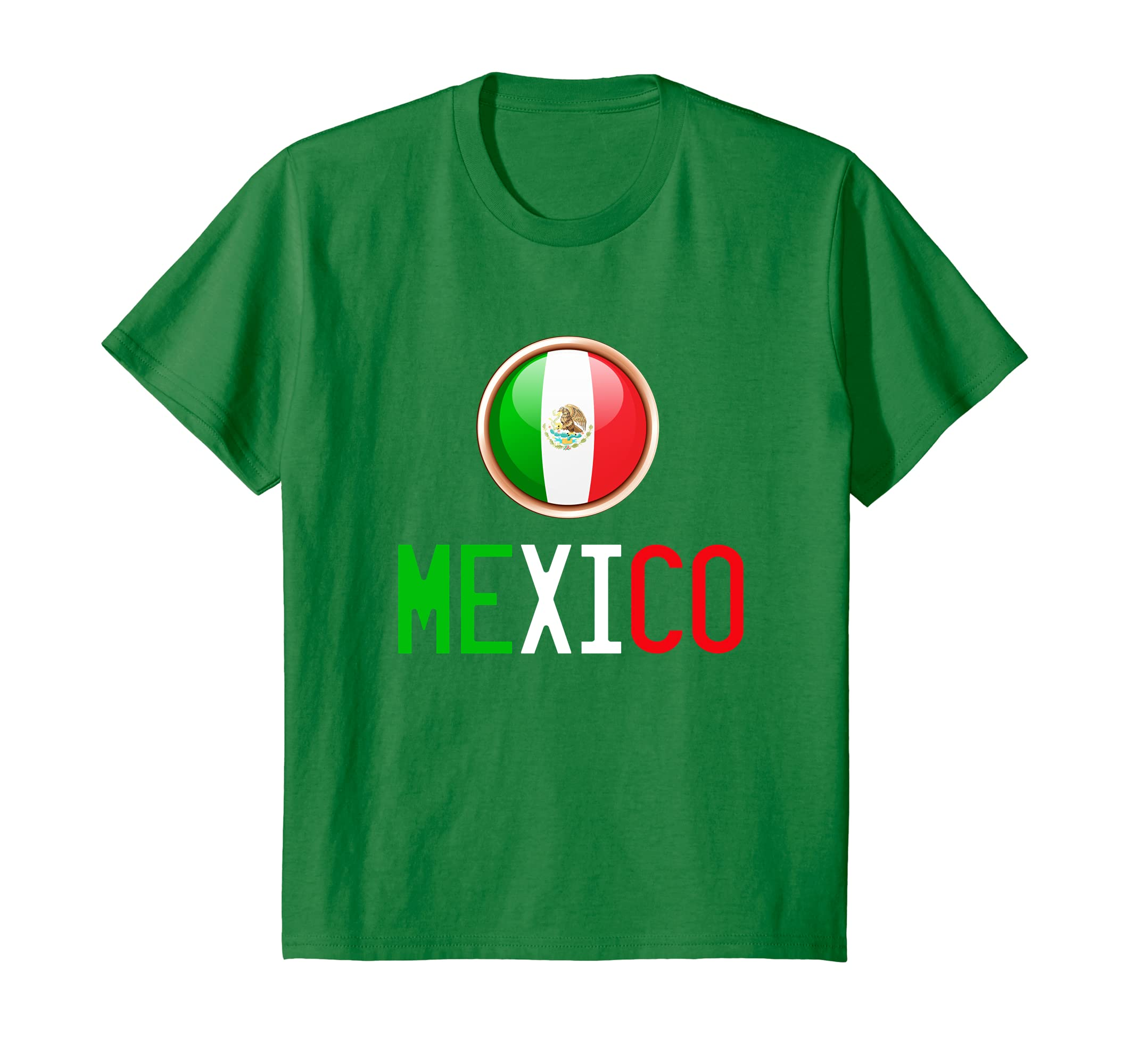 Amazon.com: Camiseta de Mexico Futbol Tricolor | Mexico Soccer T-Shirt: Clothing
