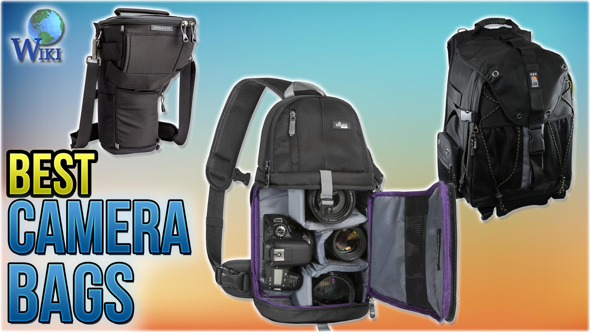 FGKING Camera Backpack Waterproof with Quick Access Dual Compartments Fit DSLR Cameras and 15.6 Laptop Multi-Function Camera Backpack Bag for Outdoor Hiking