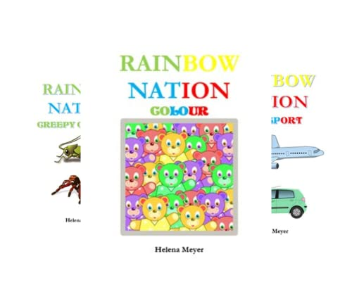 Our Rainbow Nation in Colour (6 Book Series)