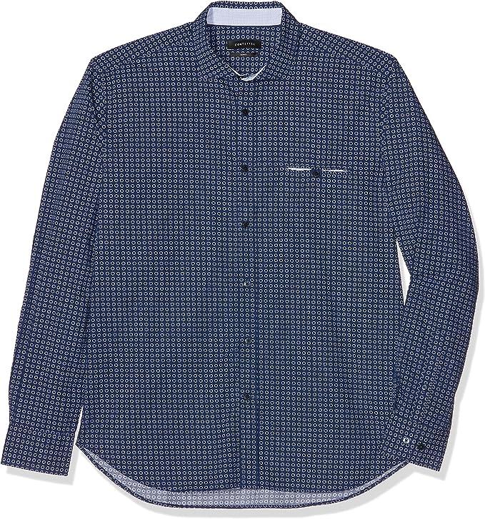 Cortefiel Estampada Camisa para Hombre