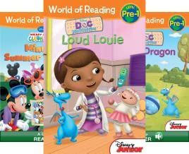 World of Reading: Level Pre-1 (16 Book Series)