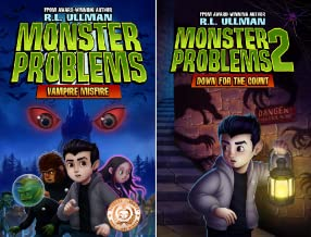 Monster Problems (2 Book Series)
