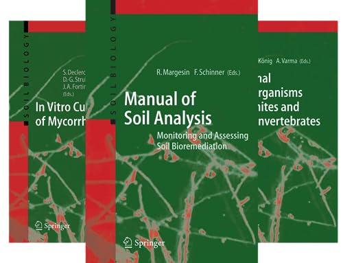 Soil Biology (50 Book Series)