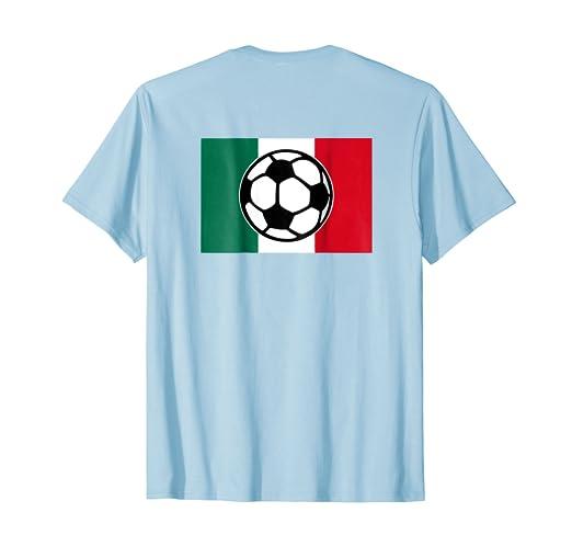 Mexico Soccer Fan T-Shirt (Back)