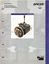 Service Manual Spicer Automate-2 10 Speed Electronically Automated Transmission