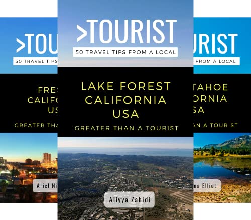 Greater Than a Tourist California (18 Book Series)
