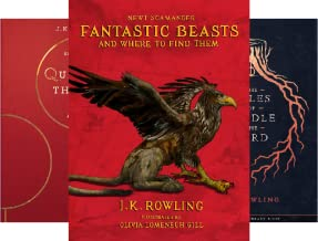 Hogwarts Library book (3 Book Series)