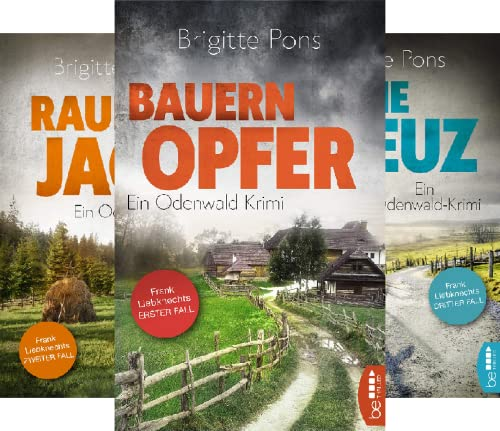 Frank Liebknecht ermittelt (Reihe in 4 Bänden)