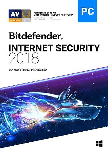 Bitdefender Internet Security 2018 | 3 PC, 1 Year | Download [Online...