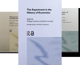 Routledge Studies in the History of Economics (51-100) (50 Book Series)