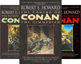 Conan the Cimmerian (3 Book Series)
