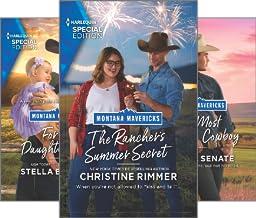 Montana Mavericks: The Real Cowboys of Bronco Heights (4 Book Series)