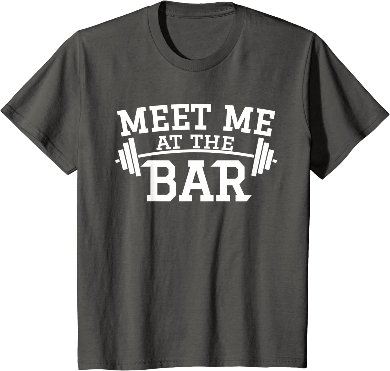 Muskelshirt//Bodybuilding Meet me at The Bar Damen Tank Top