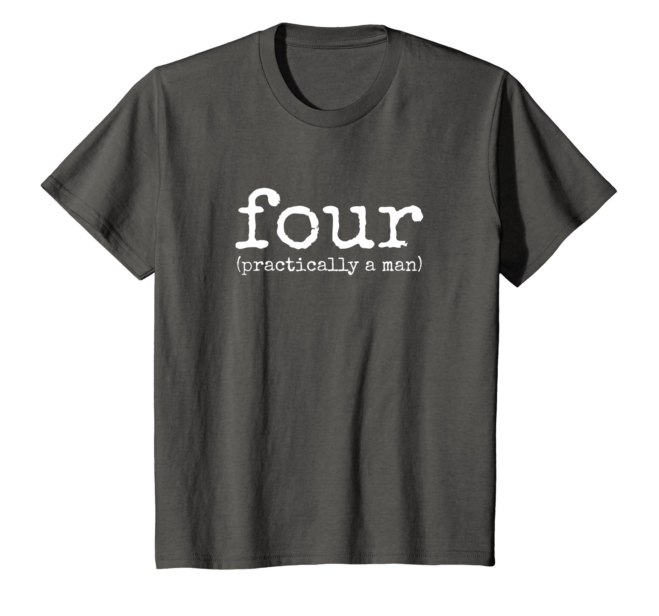Amazon Kids 4th Birthday Shirt For Boys