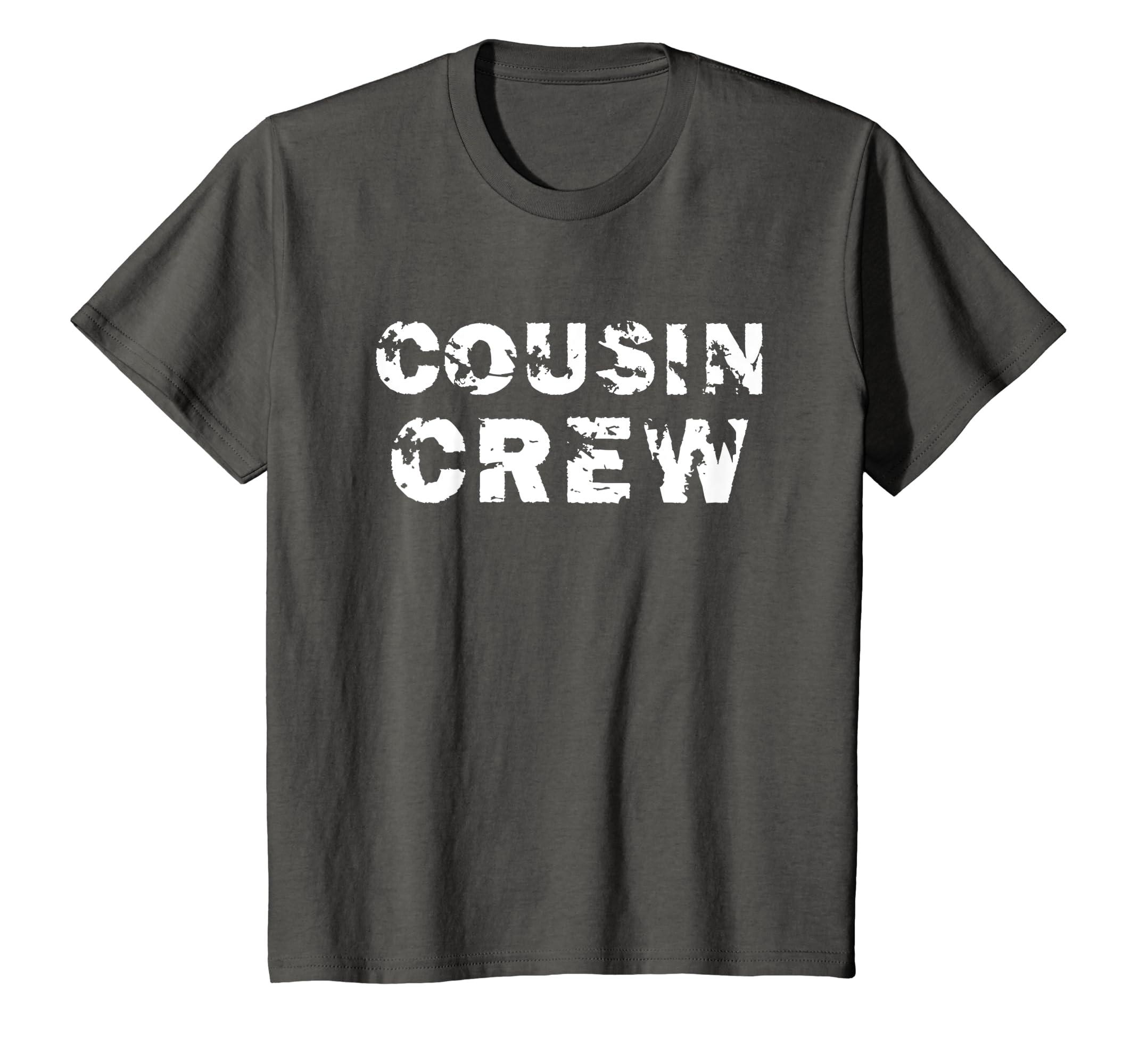 17807baa7 Amazon.com: Cousin Crew T-Shirt Kids Women Men Girl Funny Gift: Clothing