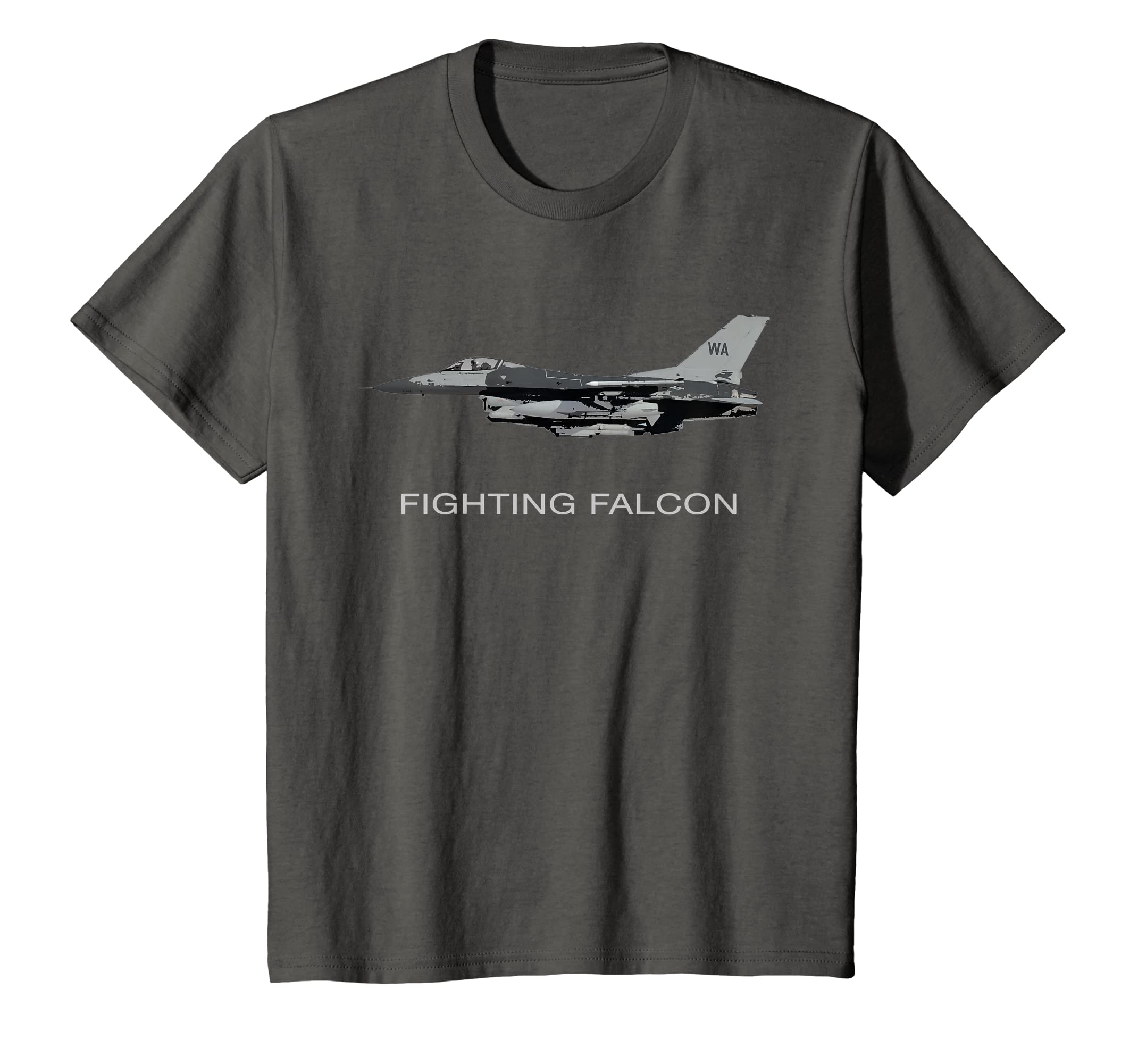 Amazon com: F-16 FIGHTING FALCON JET FIGHTER PLANE T SHIRT