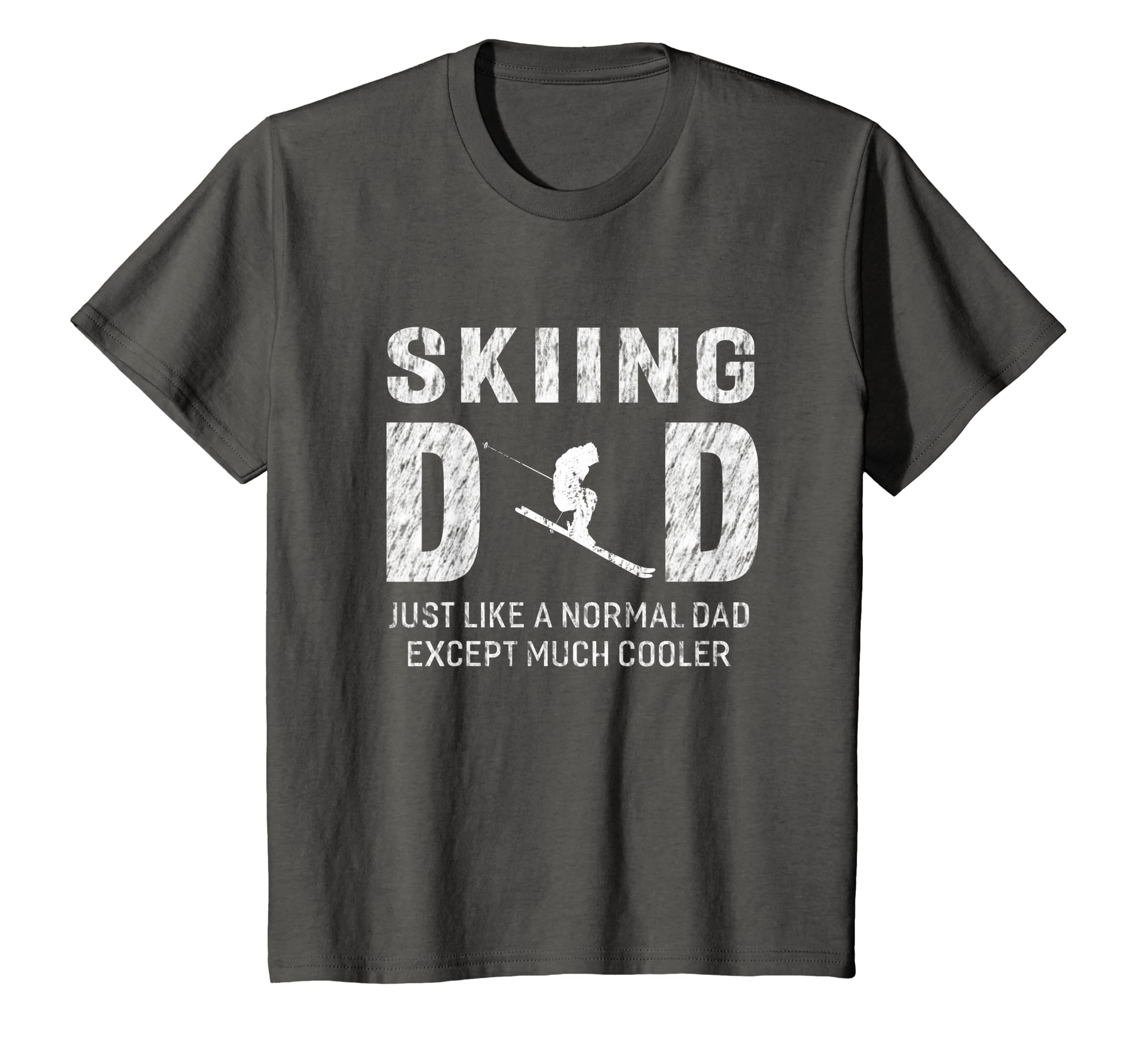 8b99d522 Amazon.com: Skiing Dad Gifts For Father Ski Men T-shirt: Clothing