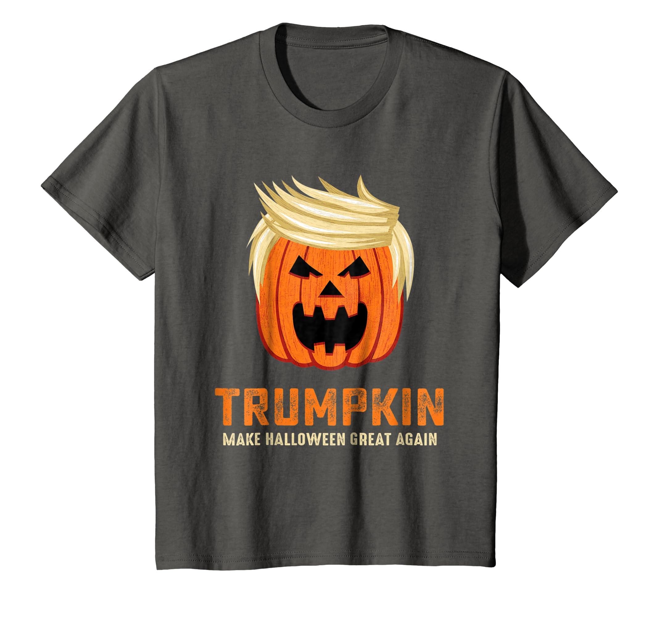 dc4fcf4e Amazon.com: Halloween Trumpkin Funny T-Shirt: Clothing