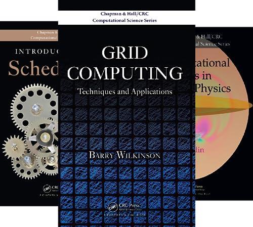 Chapman & Hall/CRC Computational Science (24 Book Series)