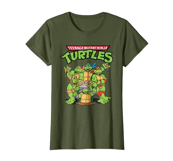 Amazon.com: teenage mutant ninja turtles Pizza Crew playera ...