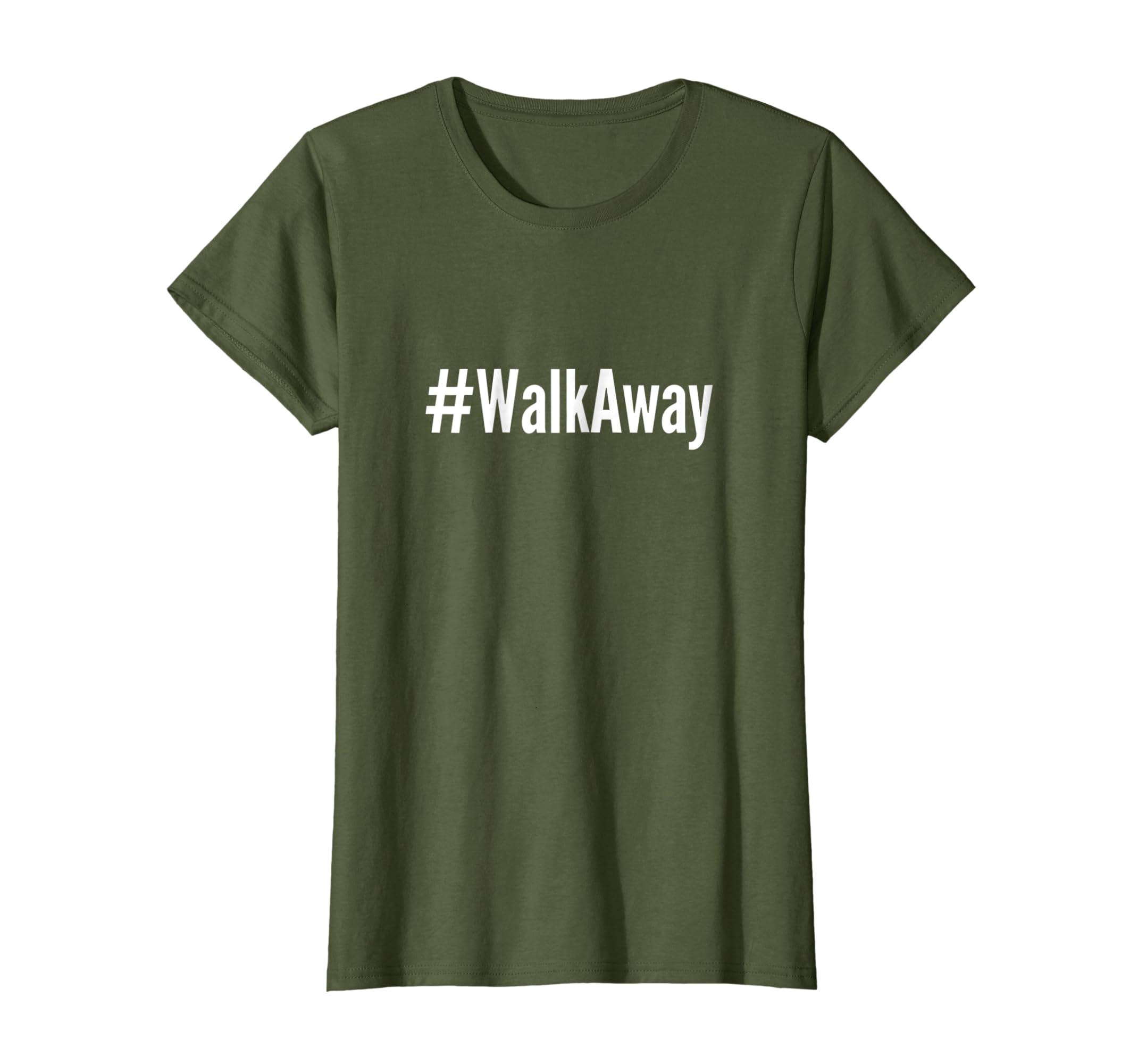 #WalkAway Movement Fan T shirt Tee Top for Men Women Kids