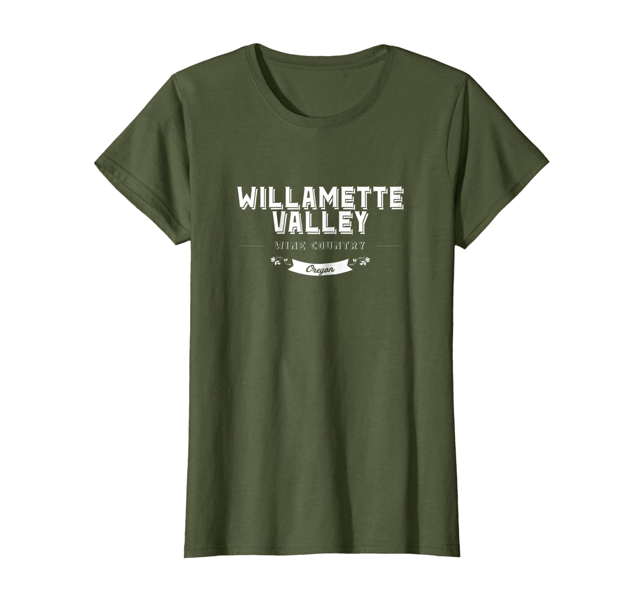 a39bf3e84ad Amazon.com: Willamette Valley Wine Country Oregon T-Shirt: Clothing