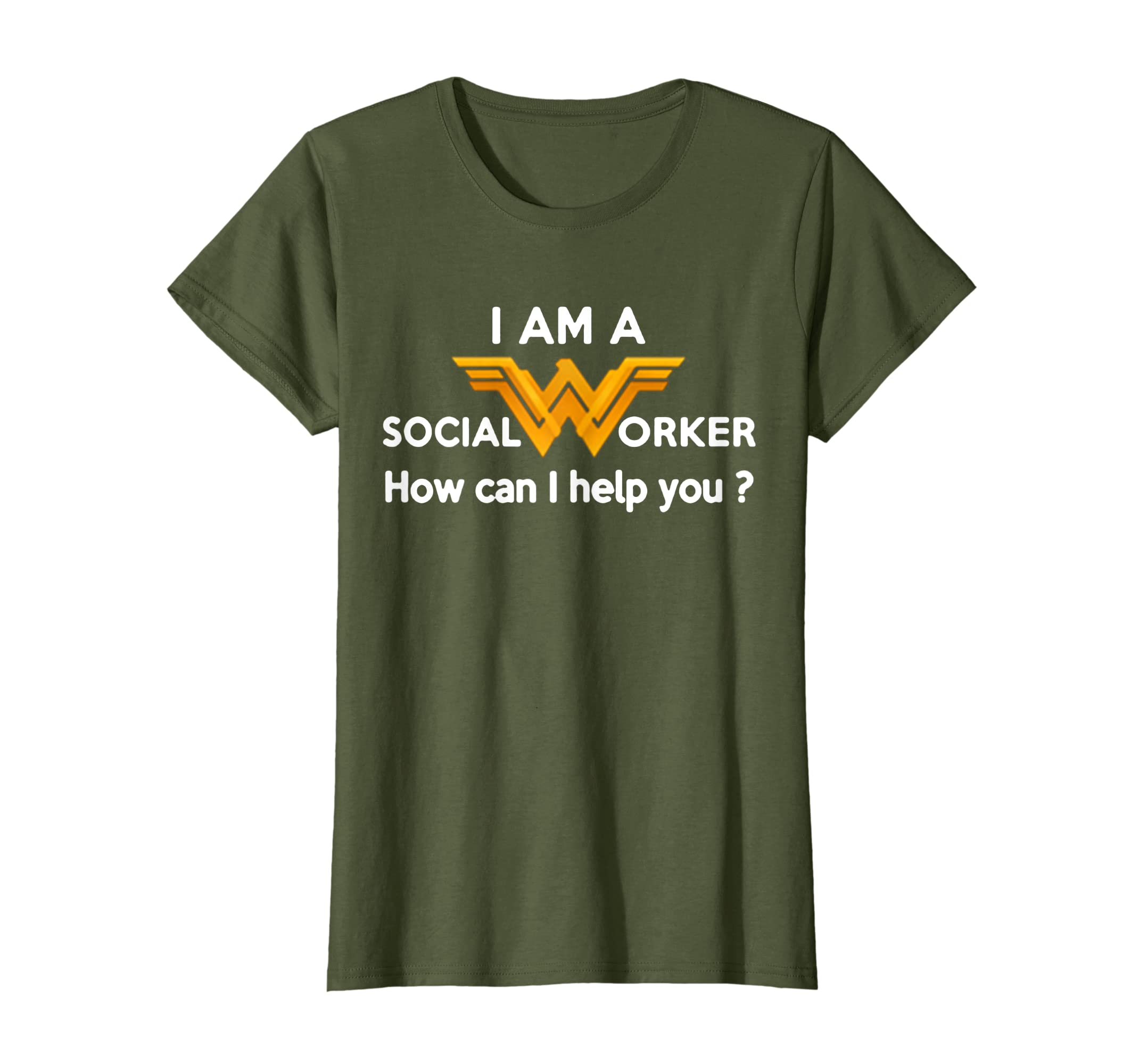 e2ba50d033a8a Amazon.com: I AM A WONDER SOCIAL WORKER T-SHIRT: Clothing