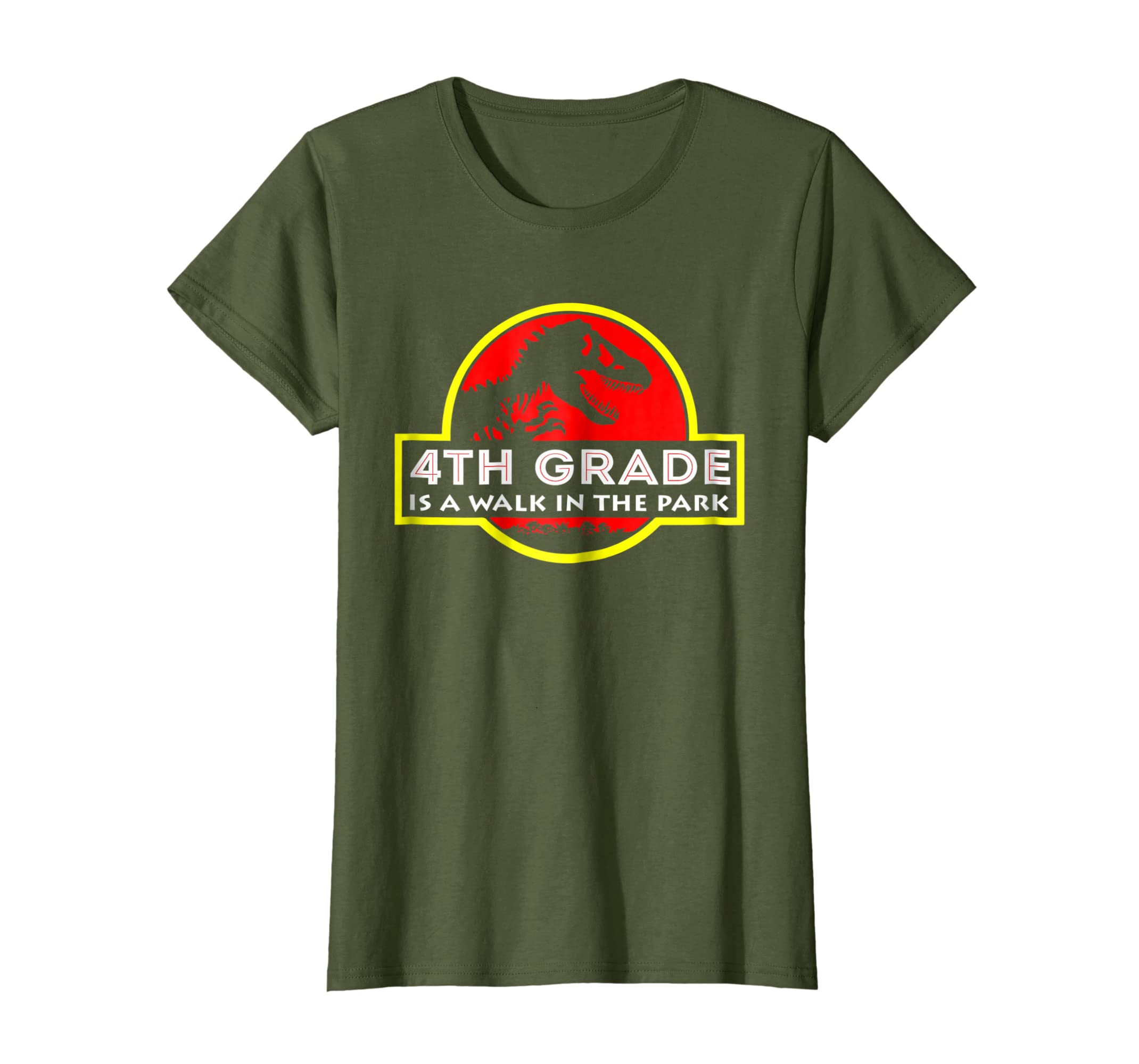 4th Grade is a walk in the park funny T shirt