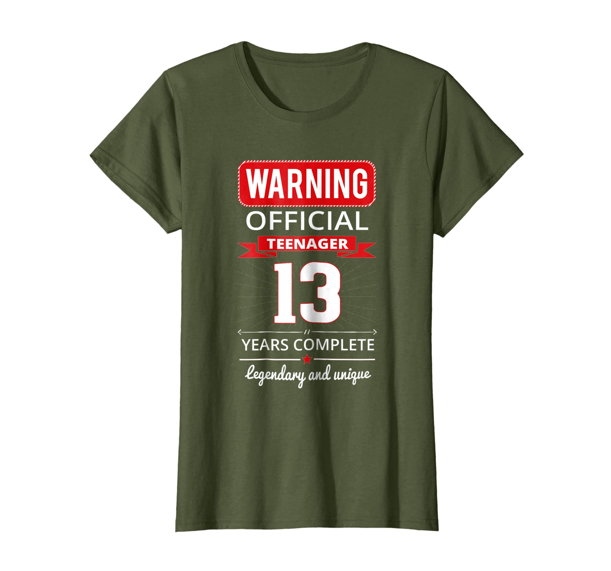 13th Birthday T Shirt Cool and Funny For Girls And Boys